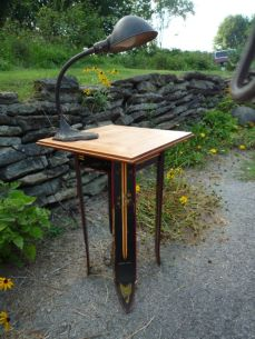 Ski Side Table