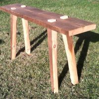 Trinity Console Table. A Modern Rustic Original